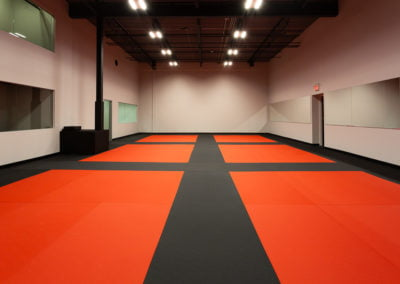 Burlington Martial Arts school training mats