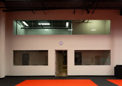 Burlington Taekwondo DCR Academy viewing areas for parents and guests
