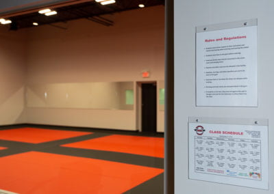 DCR Burlington Martial Arts School schedule and regulations
