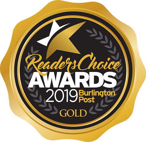 Reader's Choice Awards 2019 Burlington Post GOLD